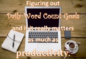 daily word count goals productivity
