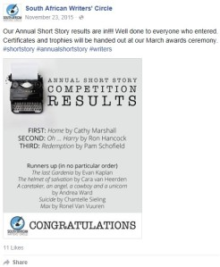 fb short story sawc results