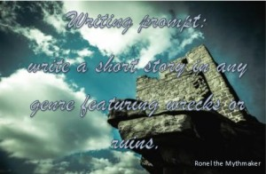 writing prompt ruins