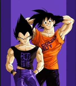 goku and vegeta friends deviantart