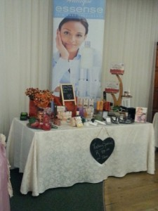 beauty product stall