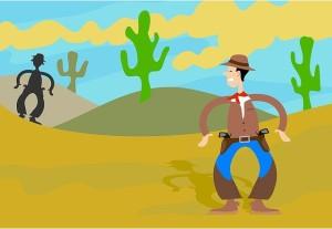 gunman cowboy