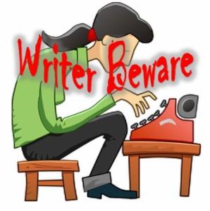 writer beware image