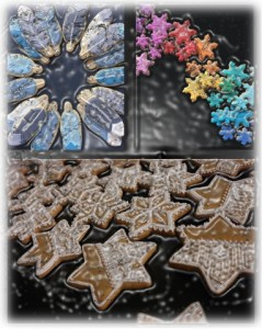 cookies montage plastic wrap