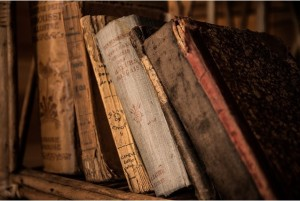 old books filled with stories of forbidden love