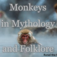 Monkeys in Mythology and Folklore #FolkloreThursday