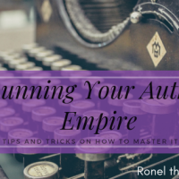 Running Your Author Empire #AuthorToolboxBlogHop